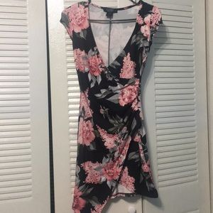 Beautiful body shaping floral dress